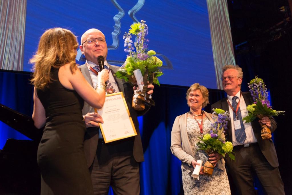 Magnus Ranstorp, Björn Ericsson, Kristina Wååg och Tilde de Paula Eby. Fotograf: Lukas Janis