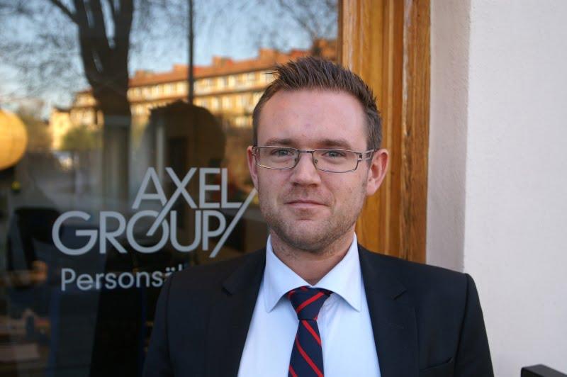 Johannes Jacobsson vd för Axel Group.
