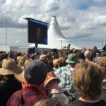 Snowden talade för Roskildepubliken