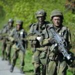 Försvarsmaktsövningen Aurora 17 ska bygga starkare försvar