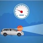 Autobroms minskar upphinnandekrockar med nästan 70 procent