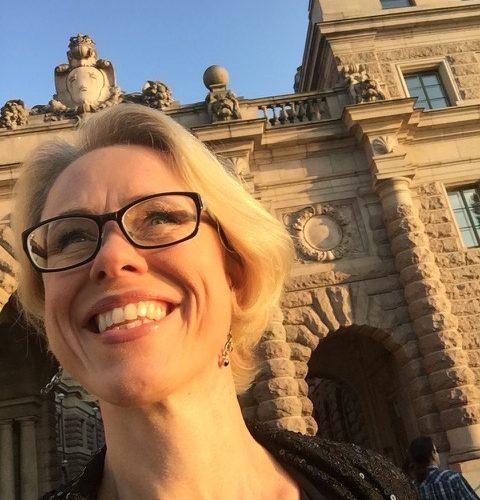 Hallå där Anna-Karin Jonsson, biträdande säkerhetschef Sveriges riksdag