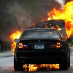 80-talet bilar i brann i Västsverige i natt