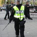 Nazistisk demonstration i Stockholm genomförd utan allvarliga konfrontationer