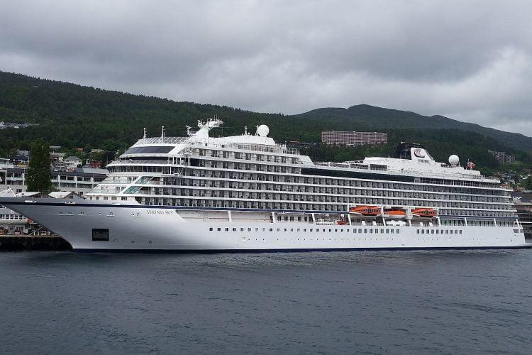 Fartyg i sjönöd utanför Norges kust