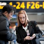 Securitas bemannar säkerhetskontrollen vid Örnsköldsviks flygplats