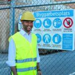 Biometrisk säkerhet lanseras på svensk byggarbetsplats