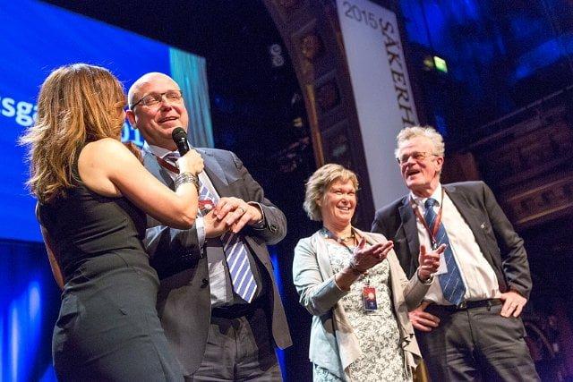 Magnus Ranstorp, Kristina Wååg och Björn Eriksson.