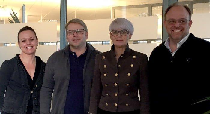 Lena Goldmann, Thomas Engström, Charlotte Engström och Håkan Olsson.
