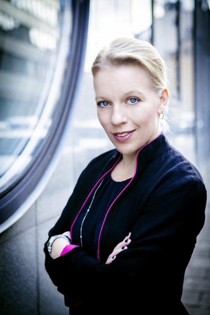Maria Rankka, , vd Stockholms Handelskammare.