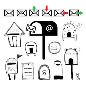 mailbox and post box
