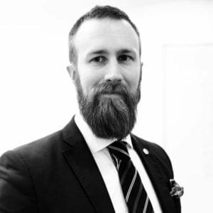 Marcus Uggeldahl, ny säkerhetschef hos Avarn Security.