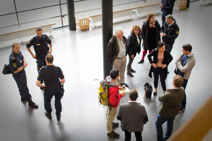 Risk- och krishanteringsföretaget 4C Strategies ökade De la Gardiegymnasiets förmåga att hantera väpnat våld.