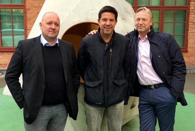 Johan Millros, Janne Rastas och Anders Lundström.