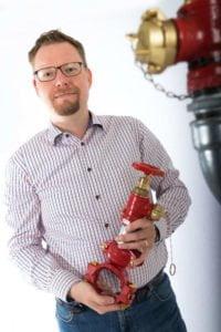Robert Johansson, produktchef på Presto.