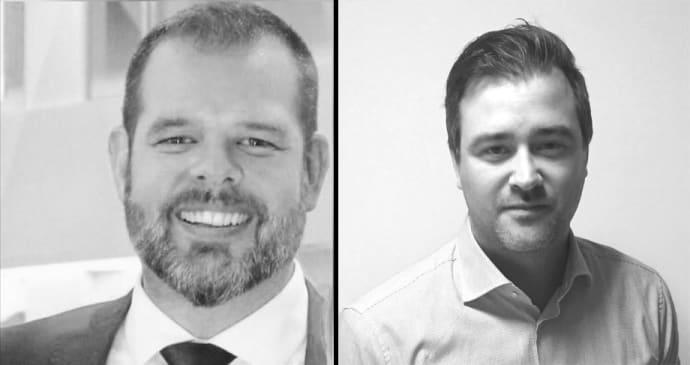 Fredrik Jansson och Fredrik Eriksson nya hos Stanley Security.