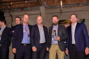 Cisco Partner: Niklas Andersson, vd Cisco AB, Kåre Nordström, försäljningsdirektör och Lars Kyhlstedt, affärsområdeschef, Cygate samt Peter Karlström, Sr VP., Cisco Europe North.