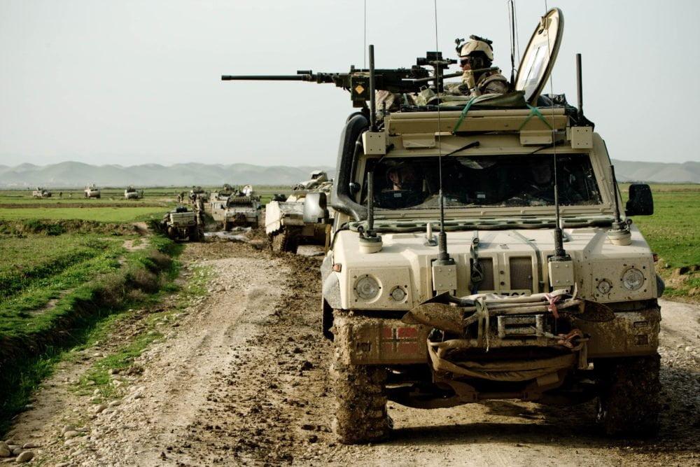 Svenskbaserad person utreds for krigsbrott i ukraina