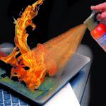 Nu kan bränder från litiumbatterier släckas