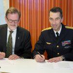 Gemensam övning ska stärka Sveriges totalförsvarsförmåga