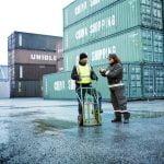 Säkra transporter i Stockholms hamnar
