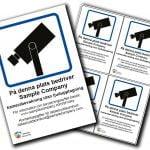 Seriline möjliggör att GDPR-anpassa kameradekaler